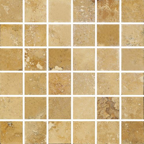 Country Classic 2x2 Travertine Mosaic
