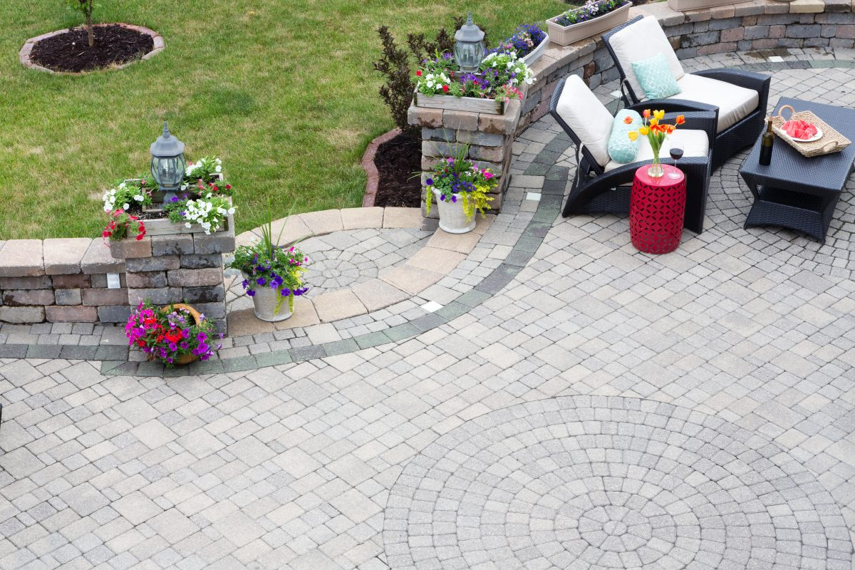 Paver pattern options and designs