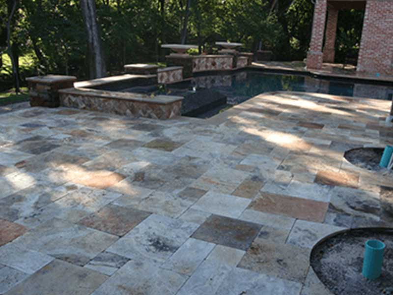 Scabos Pavers French Pattern Tiles Tampa FL