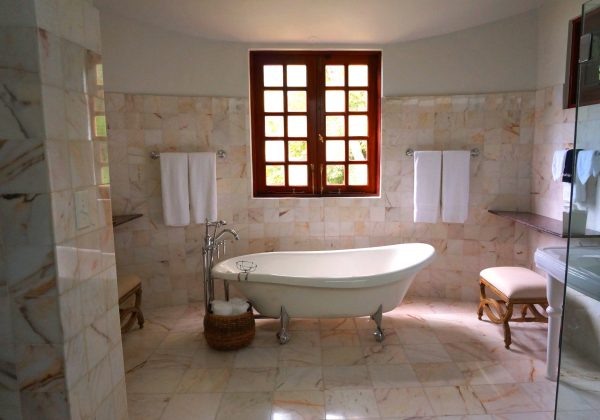 use travertine natural stone tiles in bathroom tile store tampa